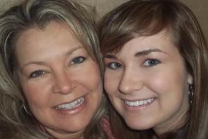 Hannah and Mama